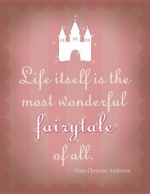 Do you want a fairy tale or to live happily everafter?
